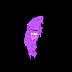 grimeart grime slime drip purple freetoedit
