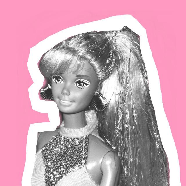 #freetoedit #barbie #barbiephotography #picsarteffects #picsartphoto #blackandwhite #colorpaint #editedeffect
