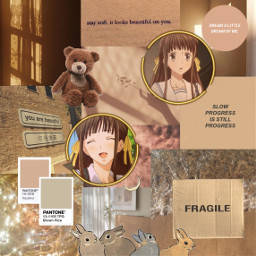 tohru kun fruitsbasket softbrown lightbrown freetoedit