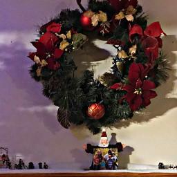 freetoedit christmas wreath santa tree