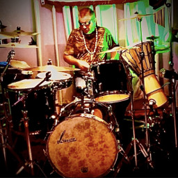 man drummer drumming music drums freetoedit