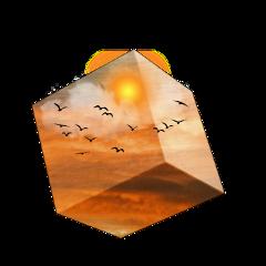 freetoedit cube sunrise kellydawn