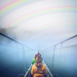 freetoedit rainbow pride love colorful ircfoggybridge