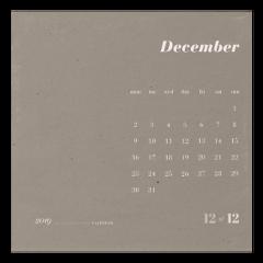 december calendar calendar2019 paper month freetoedit