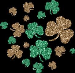 3leafclover lucky glitter stpatricksday stpaddysday freetoedit