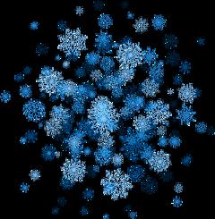 snow snowflake winter cold freetoedit