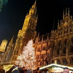münchen munich marienplatz weihnachten market