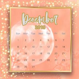 freetoedit pinkandgold frost srcdecembercalendar decembercalendar