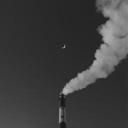 freetoedit minimalistic minimalism moon bnw