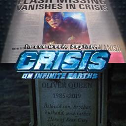 crisisoninfiniteearths crossover theflash arrow supergirl dccomics