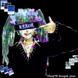 hatsunemiku depression glitch freetoedit ecaesthetic aesthetic