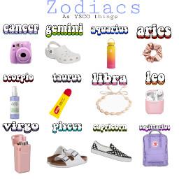 zodiacs vsco freetoedit