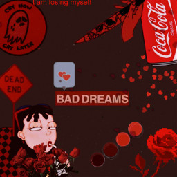 freetoedit red redaesthetic coca_cola roses