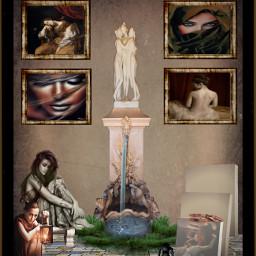 freetoedit artistic art artistrecognition statue