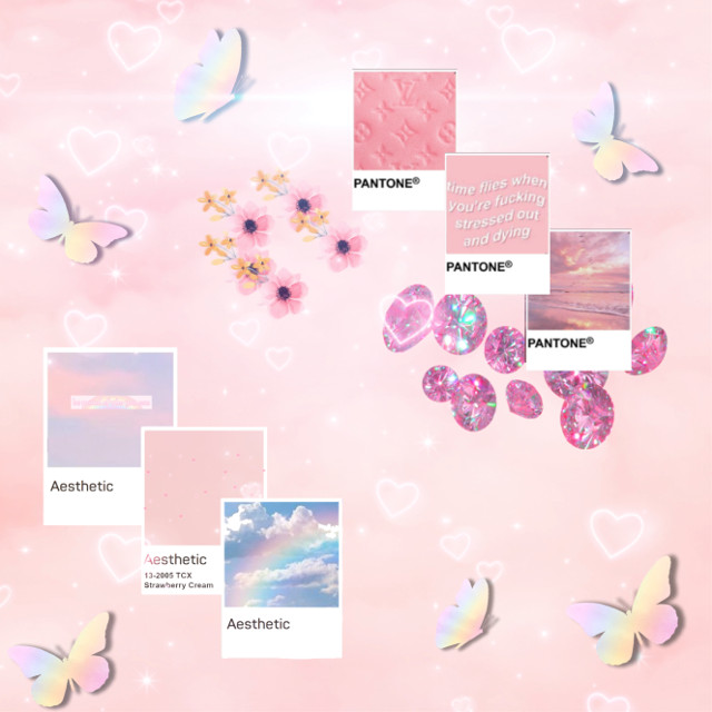 #aesthetic #pink #glitter  #freetoedit