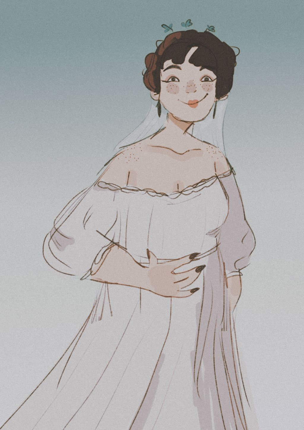 For my fRiEnd amshkznwnd. Basically im trash and i did a really bad job with the refrences i was gIVEn.  Msjsksjdjs. Does rhis coUnt as the reQuesT shE gave me 10 years ago???? Idk...         Tags: #interesting #art #digitalart #friend #weddings