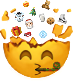 christmas emoji iphone gif santa freetoedit
