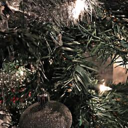 freetoedit christmas tree lights ornaments