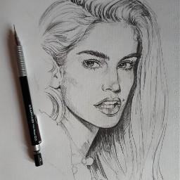 drawing sketch cindy
