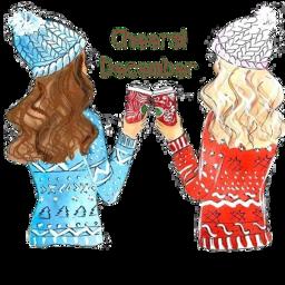 freetoedit december cheers scdecember