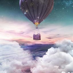 freetoedit myeditremix hotairballoon