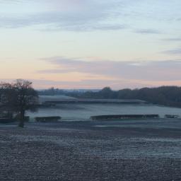 trees landscape field outandabout frostymorning freetoedit