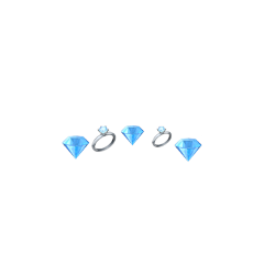 dimond emoji blue babyblue baby freetoedit