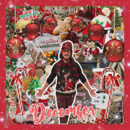 markiplier christmas red markiplieredit christmastime freetoedit