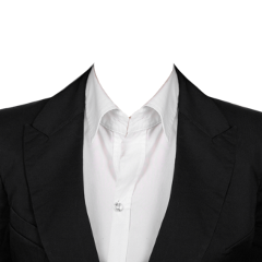 ftestickers clothes suit empty blackandwhite freetoedit