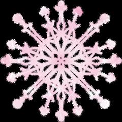freetoedit snowflake winter pink one scsnowflake
