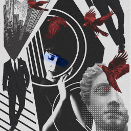 freetoedit art collage noiseeffect geometry