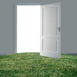 freetoedit door background wall grass