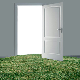 freetoedit door background wall grass