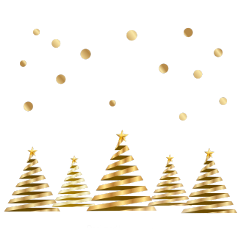 ftestickers christmas decoration trees confetti freetoedit
