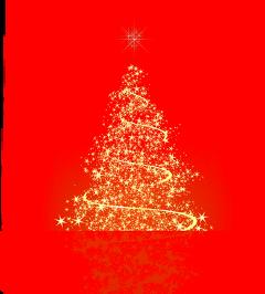 ftestickers christmas tree christmastree luminous freetoedit
