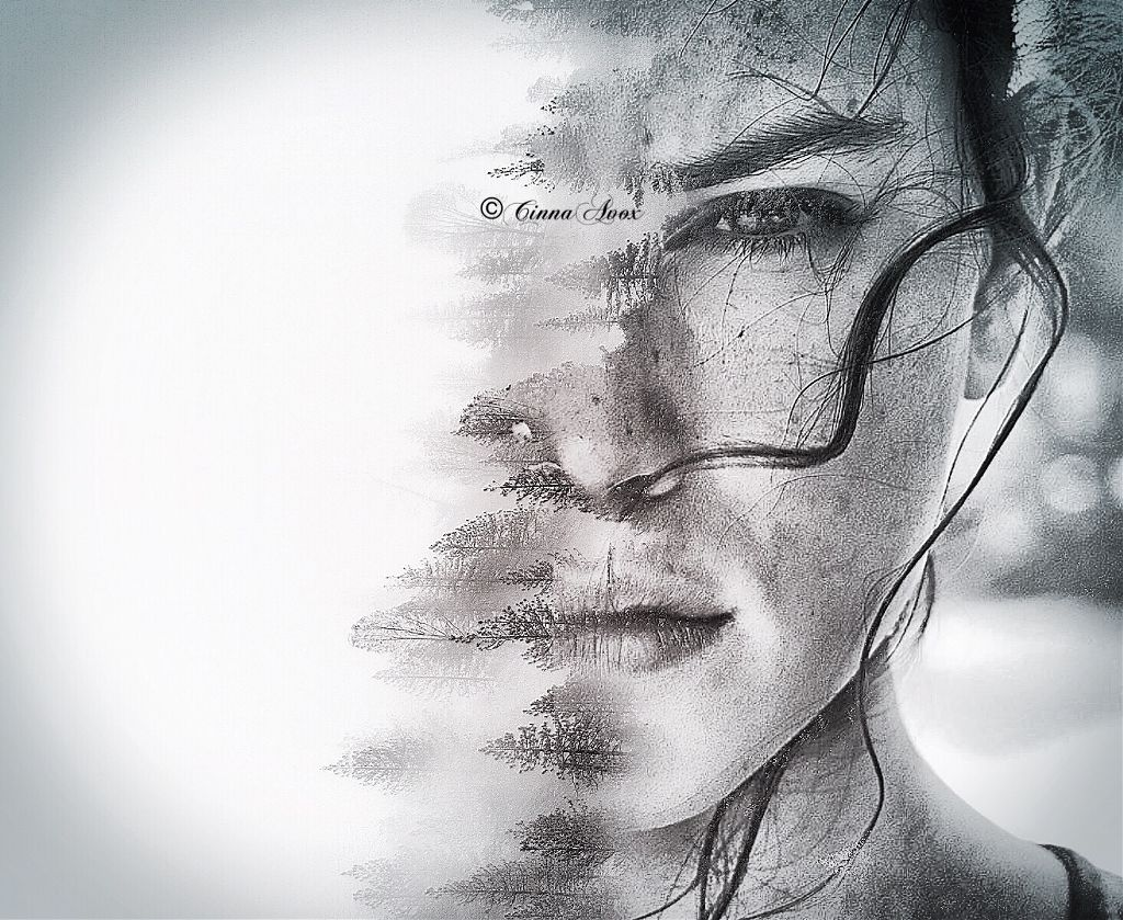 #rey #starwars #jedi #lightsaber #starwarstheforceawakens #starwarsthelastjedi #starwarsfanart #fanart #edit #doubleexposure #portrait #nature #woman #eye #bnw #blackandwhite #stunning #madewithpicsart #editwithpicsart #photography