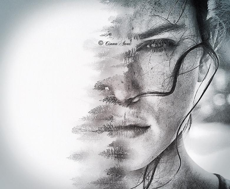 #rey #starwars #jedi #lightsaber #starwarstheforceawakens #starwarsthelastjedi #starwarsfanart #fanart #edit #doubleexposure #portrait #nature #woman #eye #bnw #blackandwhite #stunning #madewithpicsart #editwithpicsart #photography