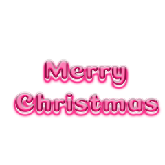 ftestickers typography merrychristmas luminous pink freetoedit