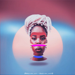 neon slicehead gradient cover women freetoedit
