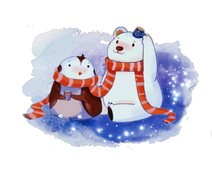 ice polarbear cold friends friendship freetoedit scpolarbear