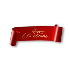 ftestickers ribbon banner label merrychristmas freetoedit