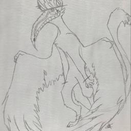 art sketch character furry design