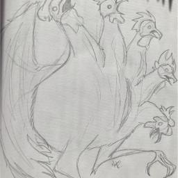 chicken art fun guesswhatitis