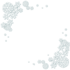 ftestickers snow snowflakes borders aesthetic freetoedit