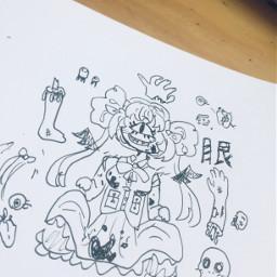 nikkiisannart art animeart anime kawaii