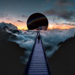 freetoedit walk planets alone nature
