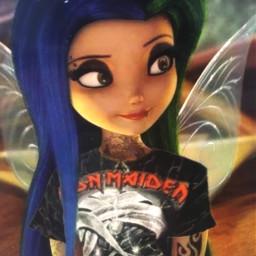 fairy tinkerbell ironmaiden heavymetal