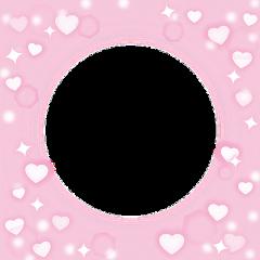 heart hearts frame heartframe pink freetoedit