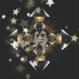 fridakahlo stars magicbrushstars magicbrusheffect sticker freetoedit