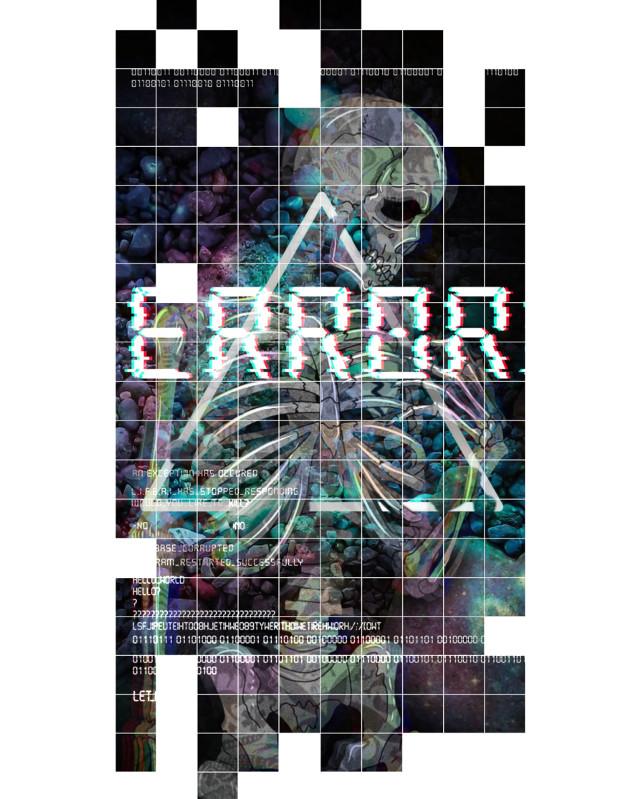 #abstractart #skullart #vaporwaveart #vaporwaveaesthetic #abstract #error #addphoto #vaporart